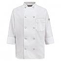 Chef Designs Women's Ten Pearl Button Chef Coat - 0401WH