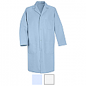 Red Kap 5080 Men's 4 Gripper Front Lab Coat