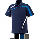 Ash City IMPACT North End Men's Performance Polyester Pique Color-Block Polo - 88645