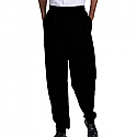 Edwards Traditional Baggy Chef Pant with Elastic Waistband - 2001