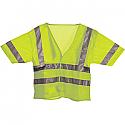 Berne Hi-Visibility Short Sleeve Mesh Short Sleeve Vest - HVV041