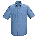 Red Kap SC24 Western Style Short Sleeve Uniform Shirt