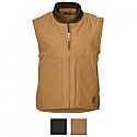 Berne Duck Workman's Quilt Lined Vest - V812